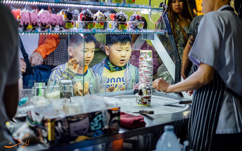خوشمزه ترین دسرهای تایلندی محصولاتی از مزارع کشور