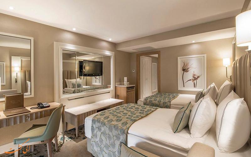 اتاق های امکانات بی نظیر هتل تایتانیک در آنتالیا