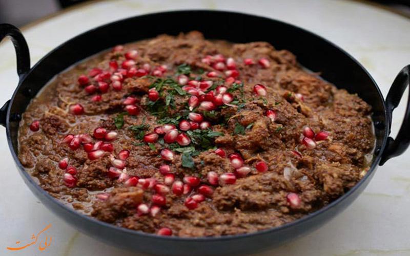 ترش سماق یکی از غذاهای محلی ساری