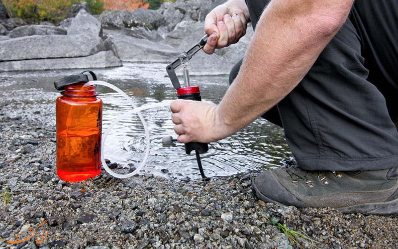 تصفیه آب در سفر
