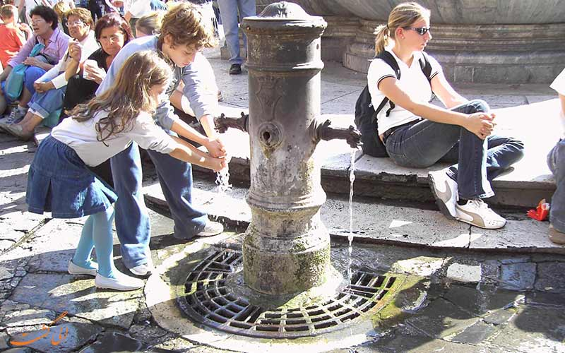 آب رایگان، یکی از نکات کاهش هزینه های سفر به ایتالیا
