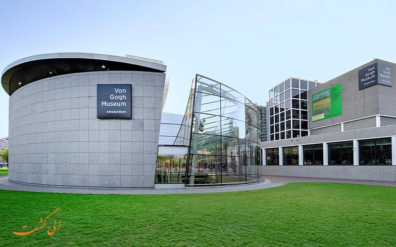 موزه ون گوگ یکی از بهترین موزه های آمستردام