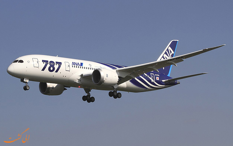 پرواز آزمایشی بوئینگ 787 دریم لاینر
