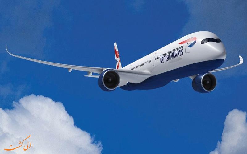 پروازها هواپیمای A350 ایرباس