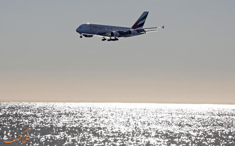 هواپیمای A380 ایرباس یکی از بهترین هواپیماهای جهان