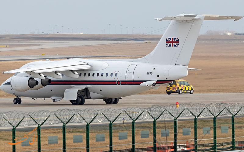 از ایمن ترین هواپیماهای مسافربری، هواپیمای BAe