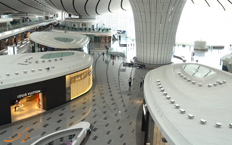 غرفه های فروشگاهی فرودگاه داکسینگ