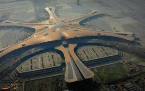 نمایی از فرودگاه بین المللی داکسینگ پکن