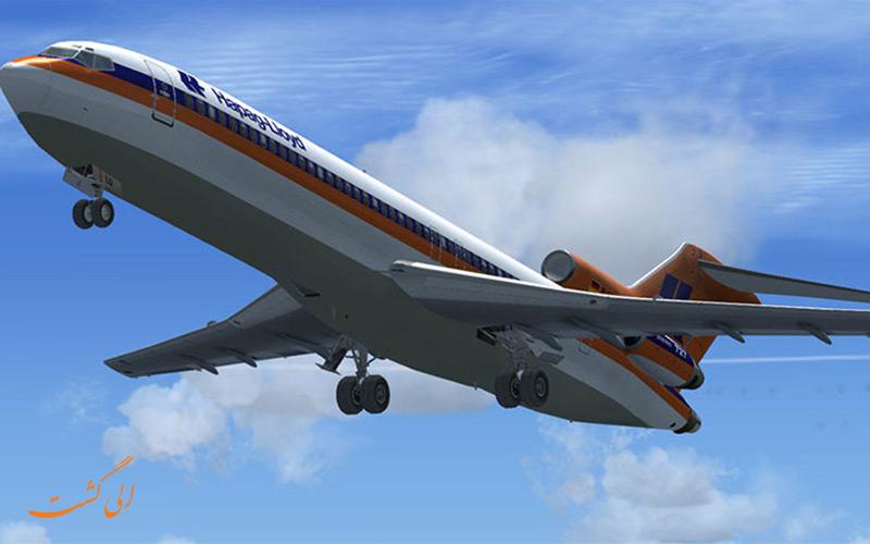 عکس هواپیما بوئینگ 727