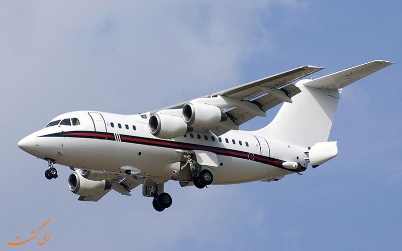 یکی از هواپیماهای ایروسپیس 146