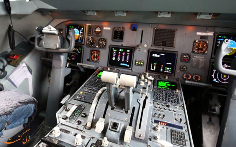 صفحه کلید هواپیما فوکر 100