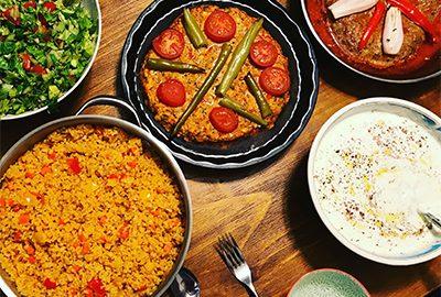 غذاهای گیاهی در ترکیه