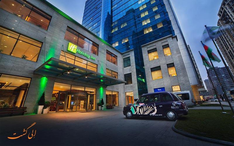 هتل هالیدی این، هتل uall باکو