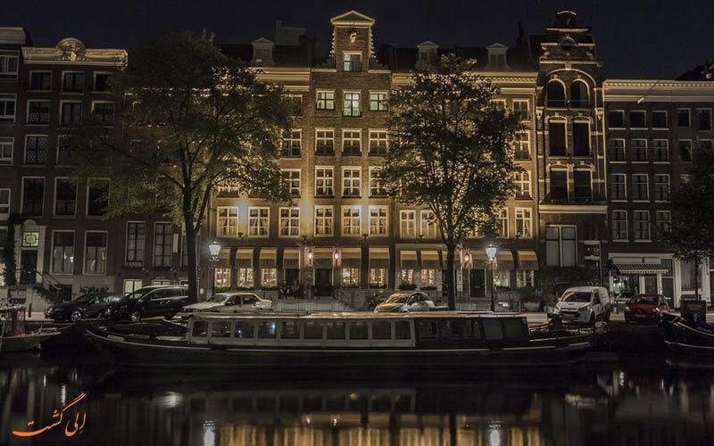 هتل استریا از مشهورترین هتل های آمستردام