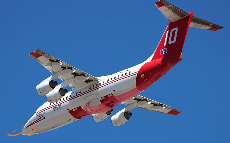 هواپیما BAe از بهترین هواپیماهای مسافربری