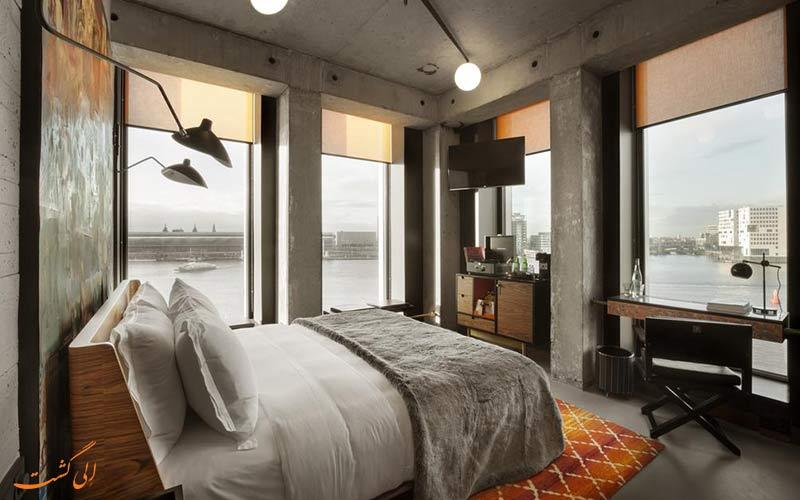 سر آدام، بهترین هتل پایتخت هلند در کنار اسکله