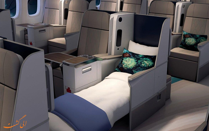 تجهیزات داخلی هواپیما کریستال