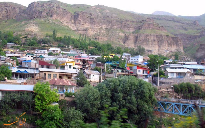 تصویری از یکی شهرهای اطراف تهران