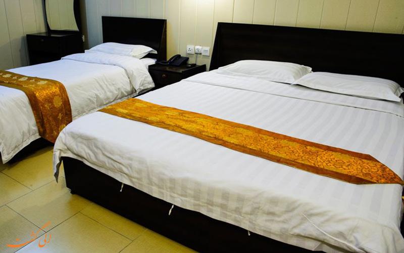 اتاق 2 تخته هتل آپادانا قشم