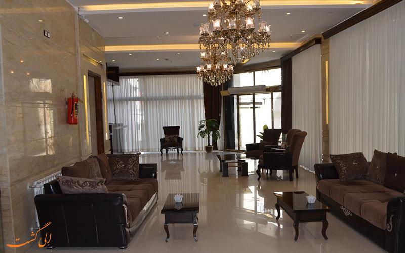 لابی هتل آپارتمان بامداد مشهد