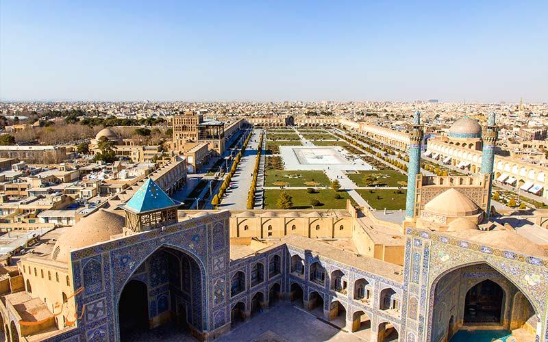 اصفهان از زیباترین های ایران