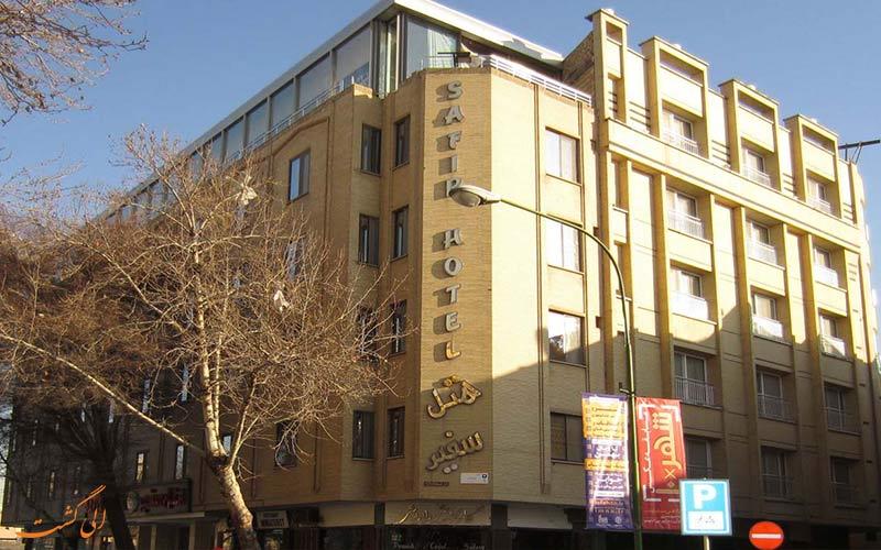 هتل سفیر، یکی از بهترین هتل های اصفهان