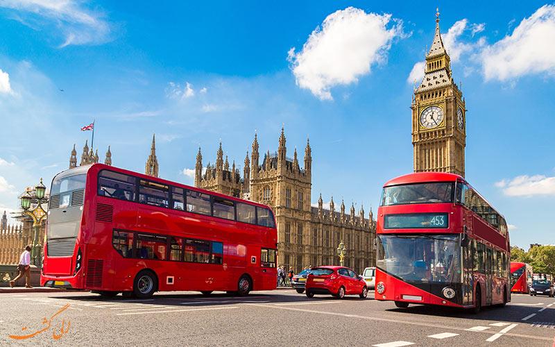 نمایی از شهر لندن