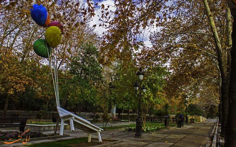 بوستان قیطریه از پارکهای زیبای تهران