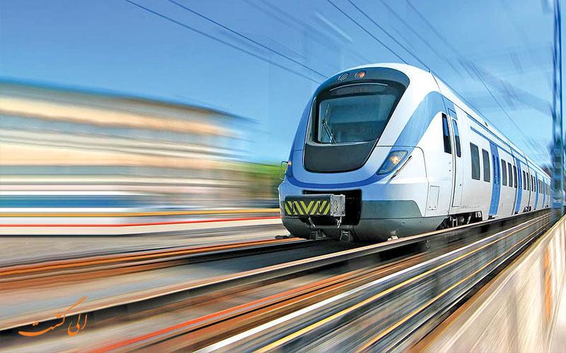 مسیر قطار 4 تخته پرستو و بلیط قطار