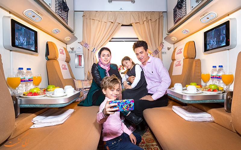 نور الرضا، قطار درجه یک تهران مشهد