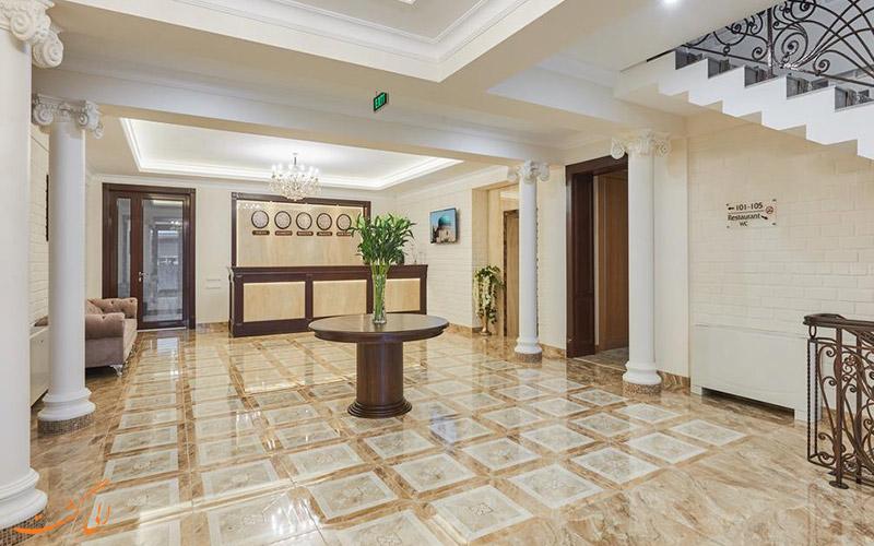 لابی هتل پراگا