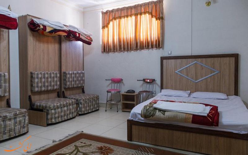 عکس یکی از واحدهای آپارتمانی هتل آپارتمان شارین مشهد