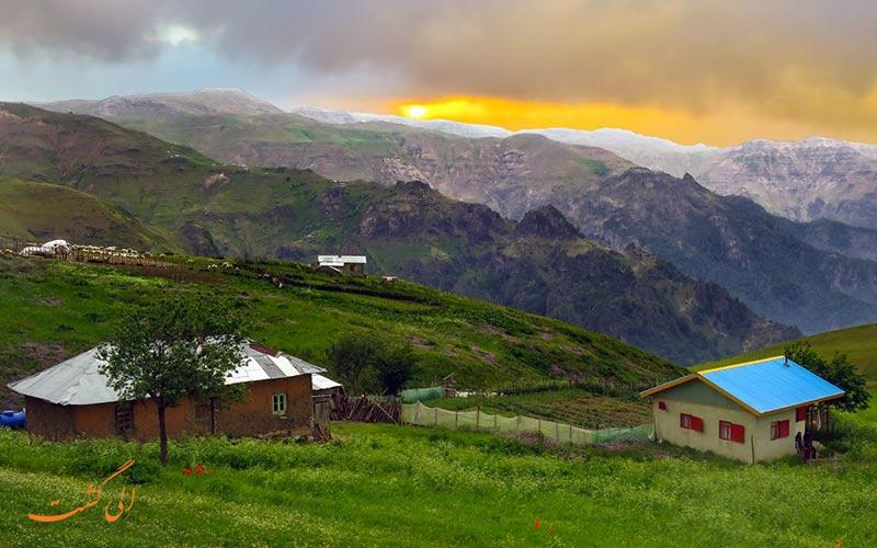 سوباتان بهترین روستای گیلان برای زندگی