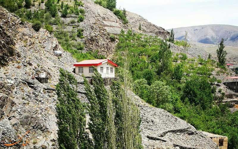 روستای زیبای زشک در اطراف مشهد