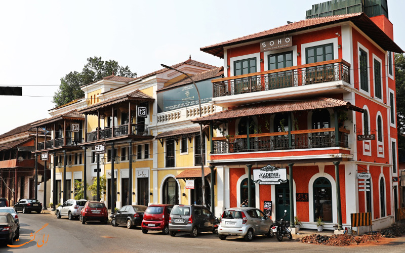 تاریخچه مختصر محله فانتین هاس در گوا