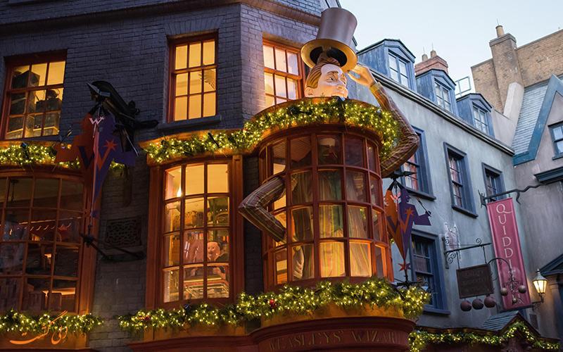 فروشگاه رنگارنگ جورج و فرد Weasleys' Wizard Wheezes
