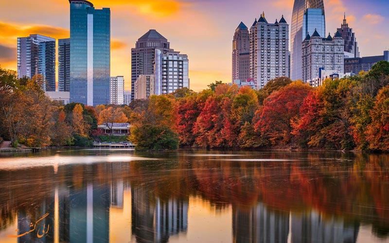 زیبایی شهرها در پاییز