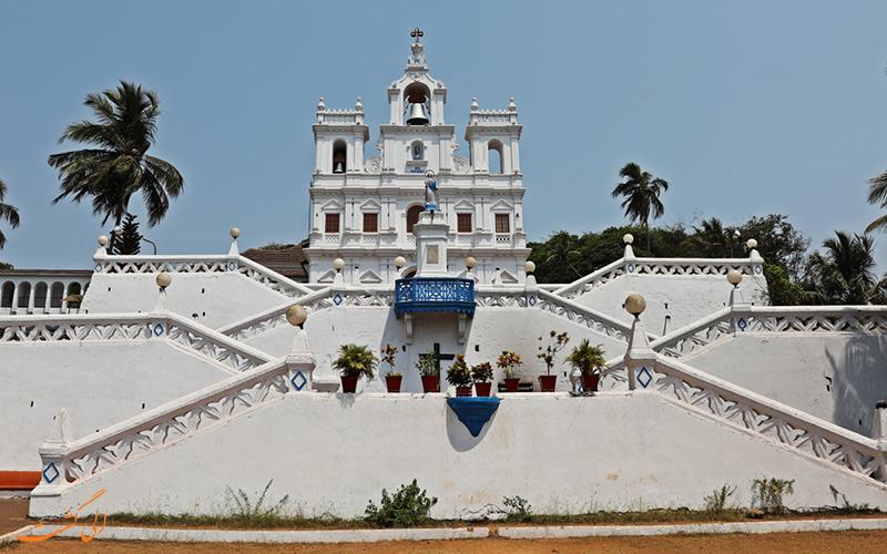 نمایی از کلیسای سن آنتونیو