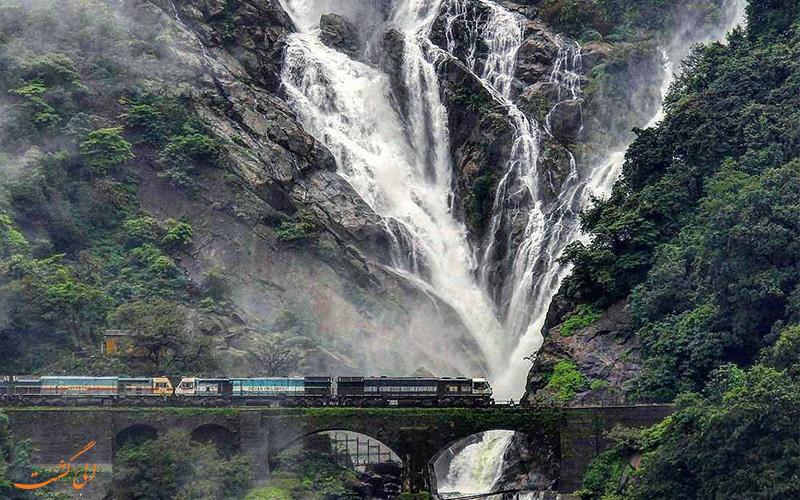 جاهای دیدنی گوا، آبشار دودهساگار