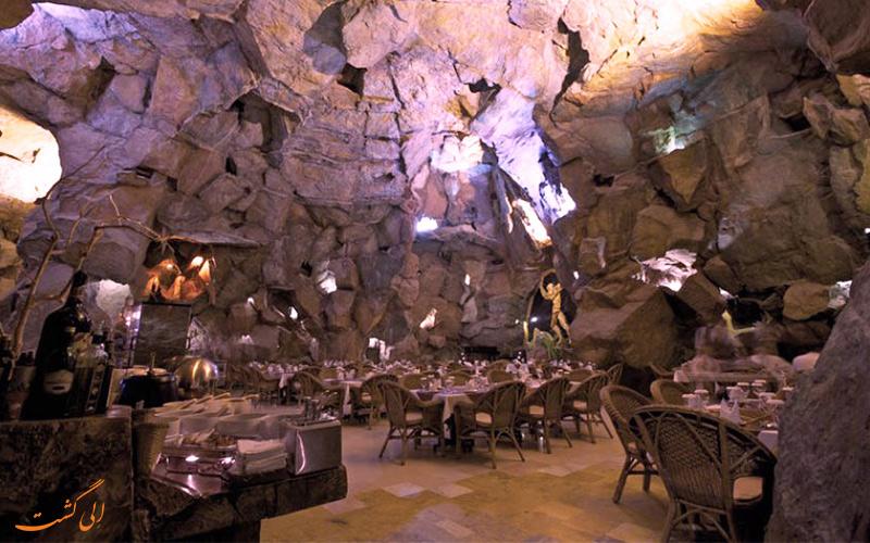 رستوران کوه نور در جزیره کیش