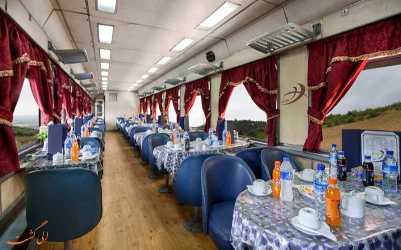 رستوران قطارهای جوپار