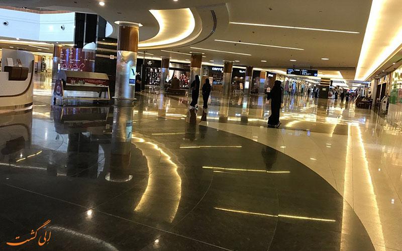 نمای داخلی مرکز خرید دالما