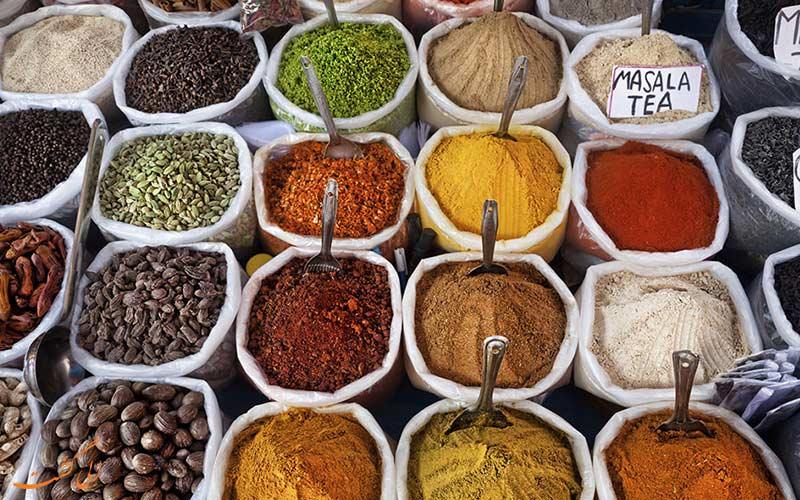 بهترین ادویه ها را در هند پیدا کنید!