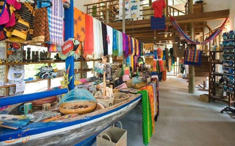 نمای یکی از مراکز خرید در مالدیو