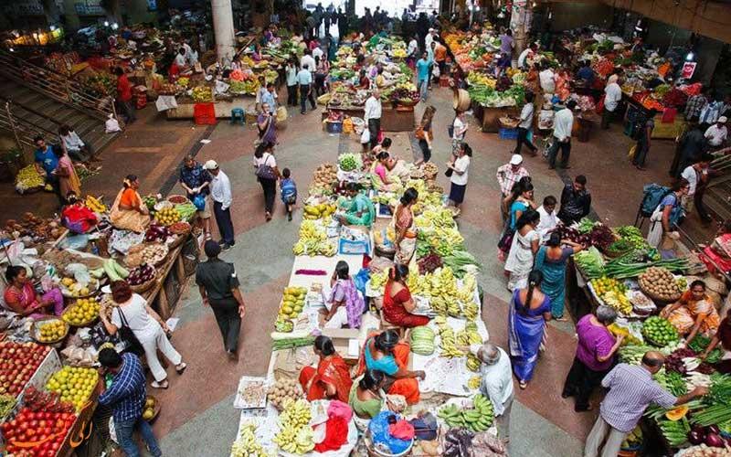 پانجیم از بازارهای محلی بزرگ گوا