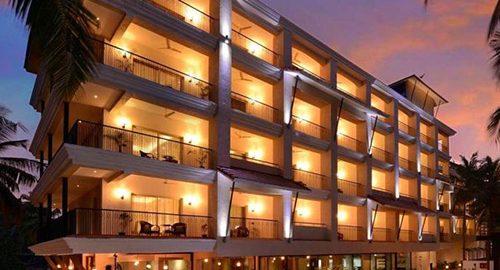 بهترین هتل های گوا