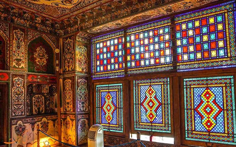کاخ تابستانی در شهر شکی آذربایجان