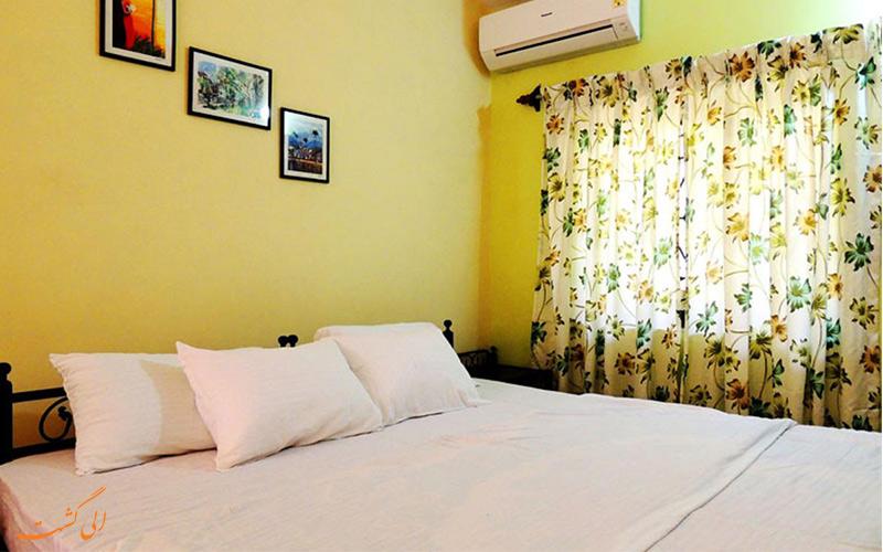 محیط آرام و نمای اتاق هتل خانه مهمان جانز هایلند (John's Highland Guest House Hotel) گوا