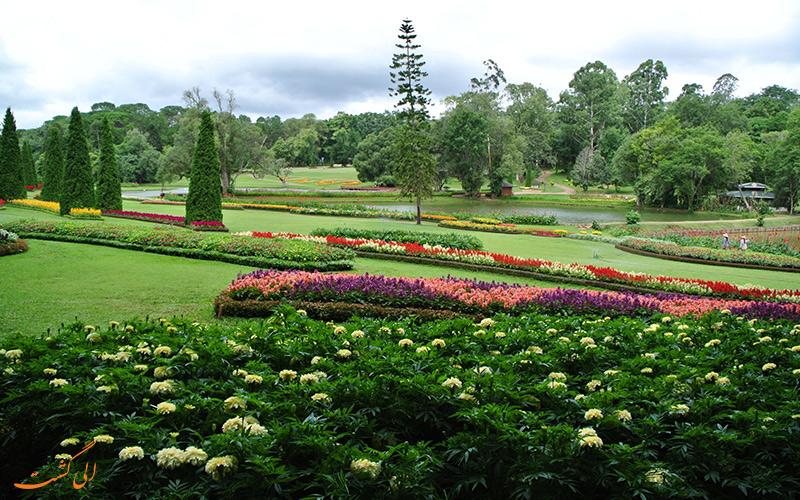 نمای کلی باغ گیاه شناسی در میانمار