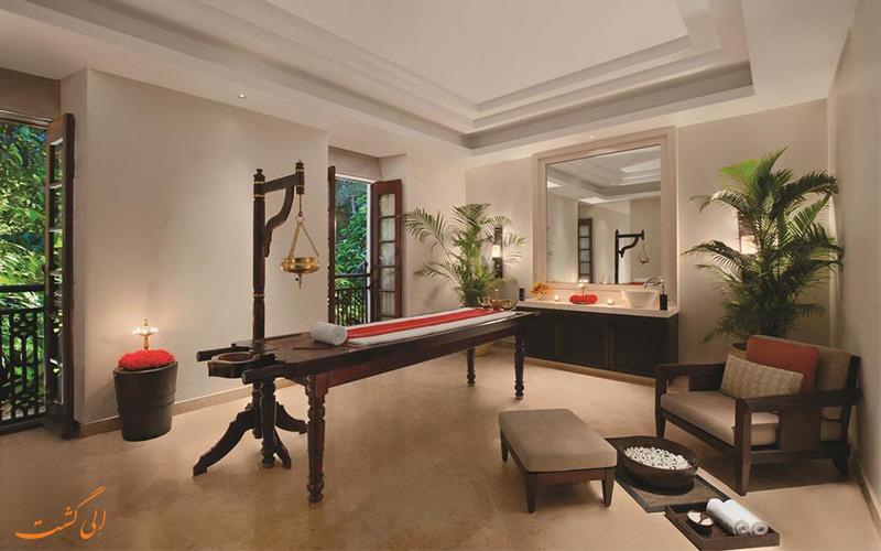 اتاق ماساژ هتل گرند هایات گوا (Grand Hyatt Goa Hotel) یکی از بهترین هتل های گوا